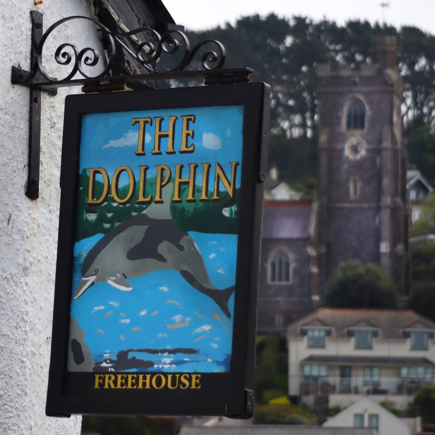 Food and Drink at The Dolphin in Newton Ferrers