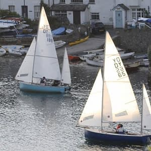 Sailing in the South Devon