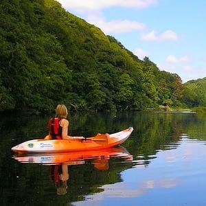Kayaking in Newton Creek