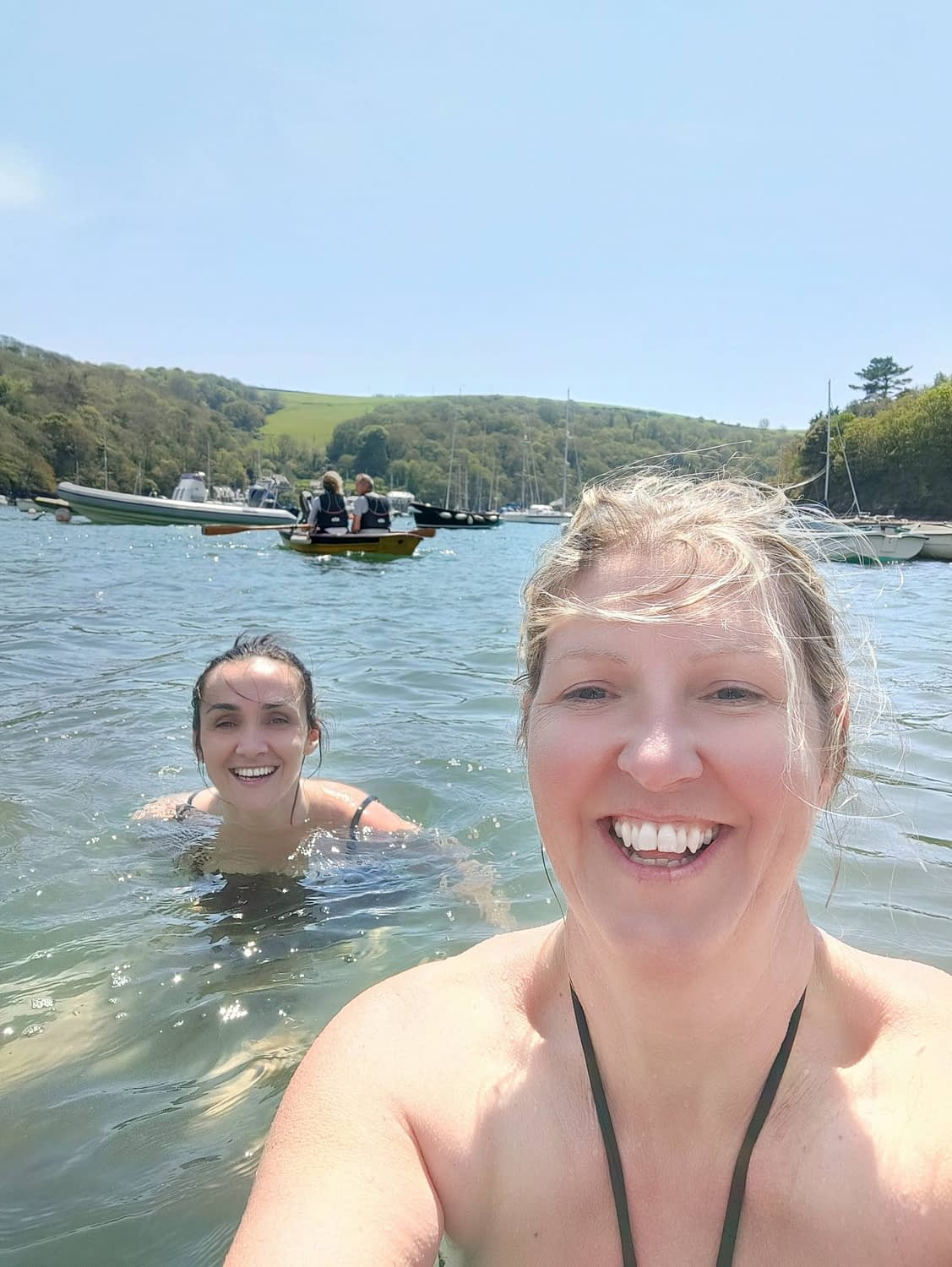 Wild Swimming in The Yealm