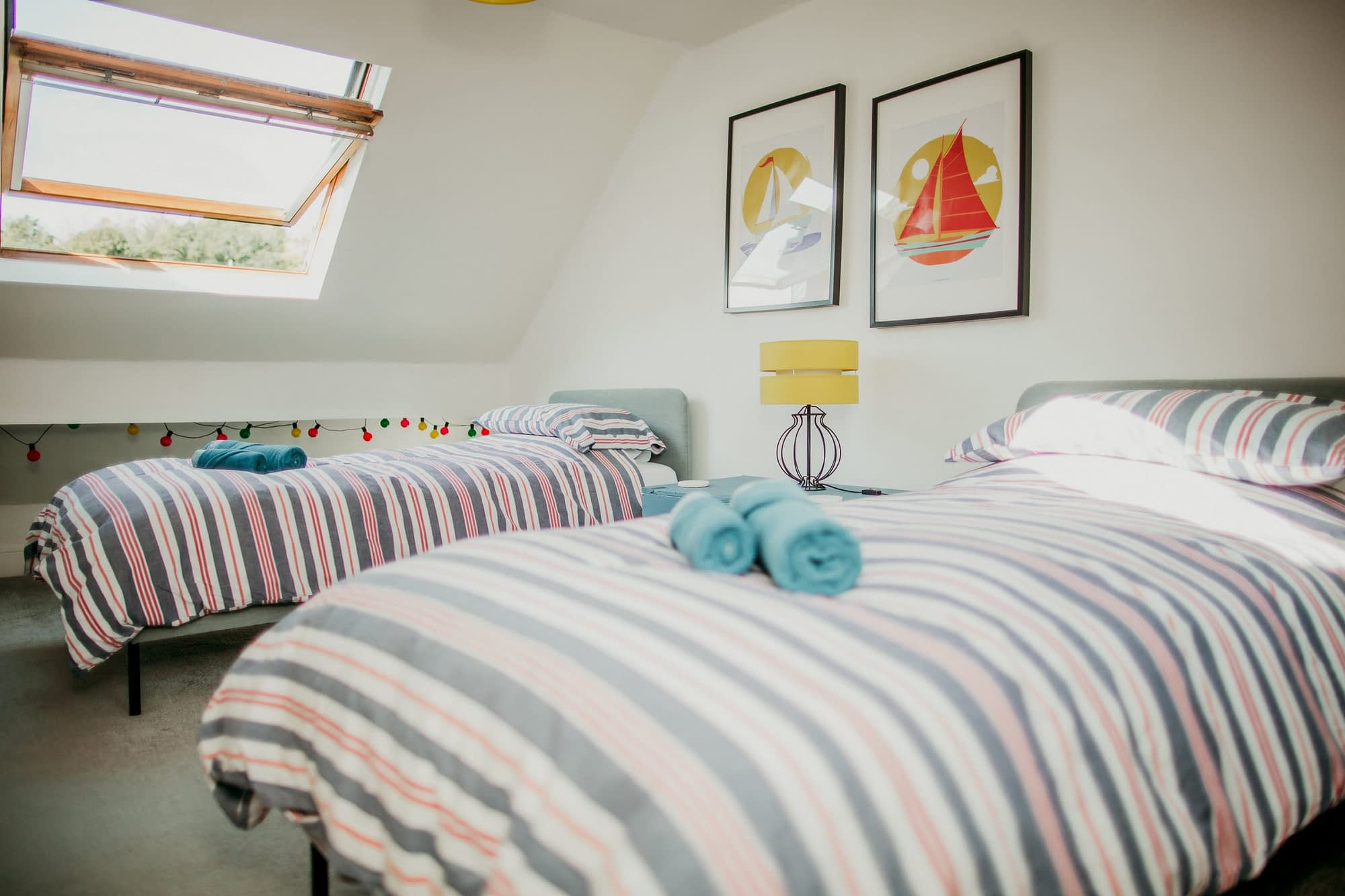 Super comfy single beds - The Dabber - Holiday Cottages Noss Mayo