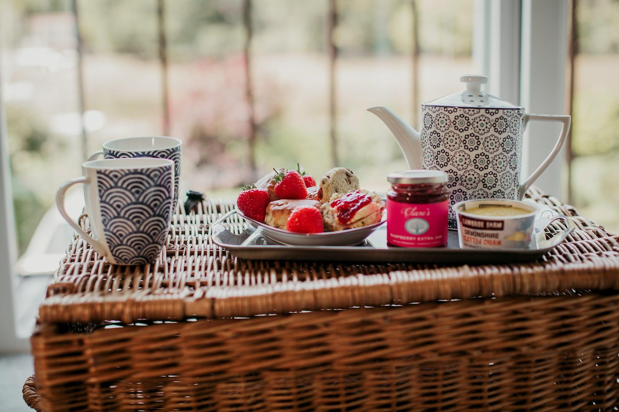 Devon Cream Tea at Anchor Cottage - Holiday Cottages Noss Mayo