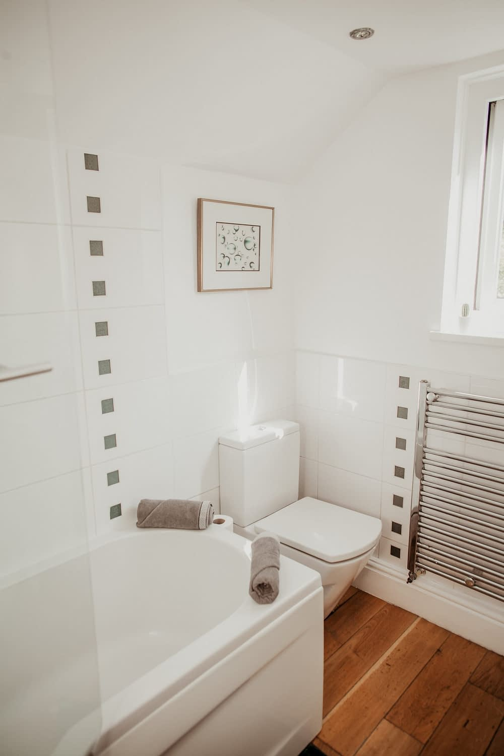 Anchor Cottage Covid-19 Update - Deep Cleaned Bathrooms