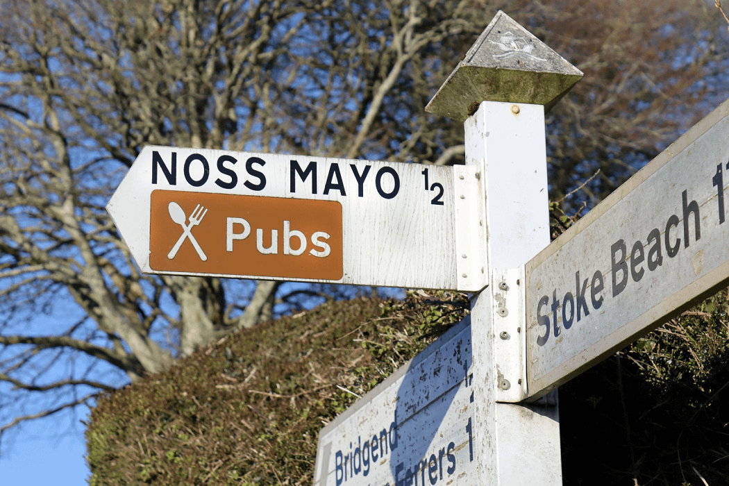 Food and Drink at Pubs in Noss Mayo and Newton Ferrers