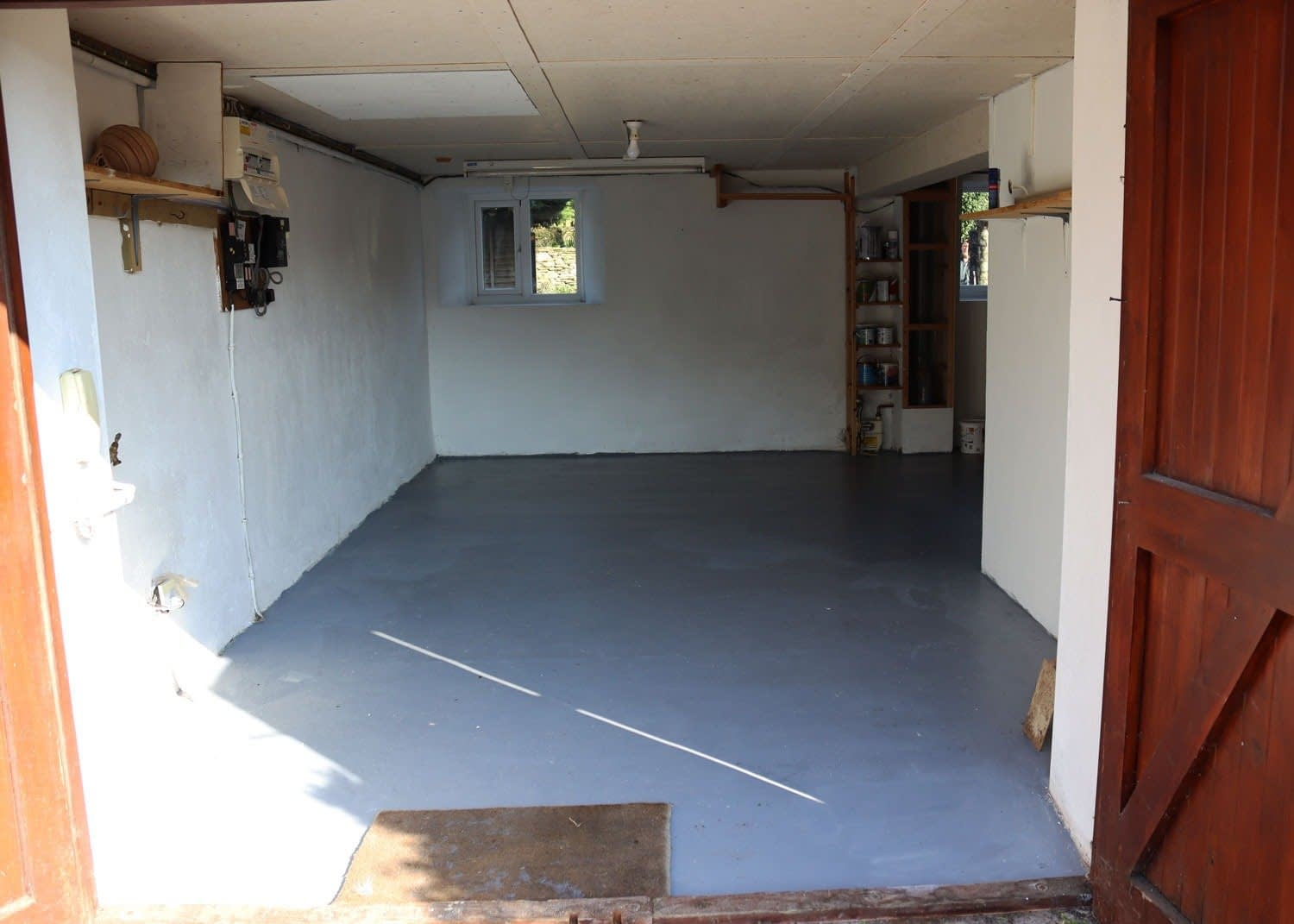 Garage and Secure Storage area