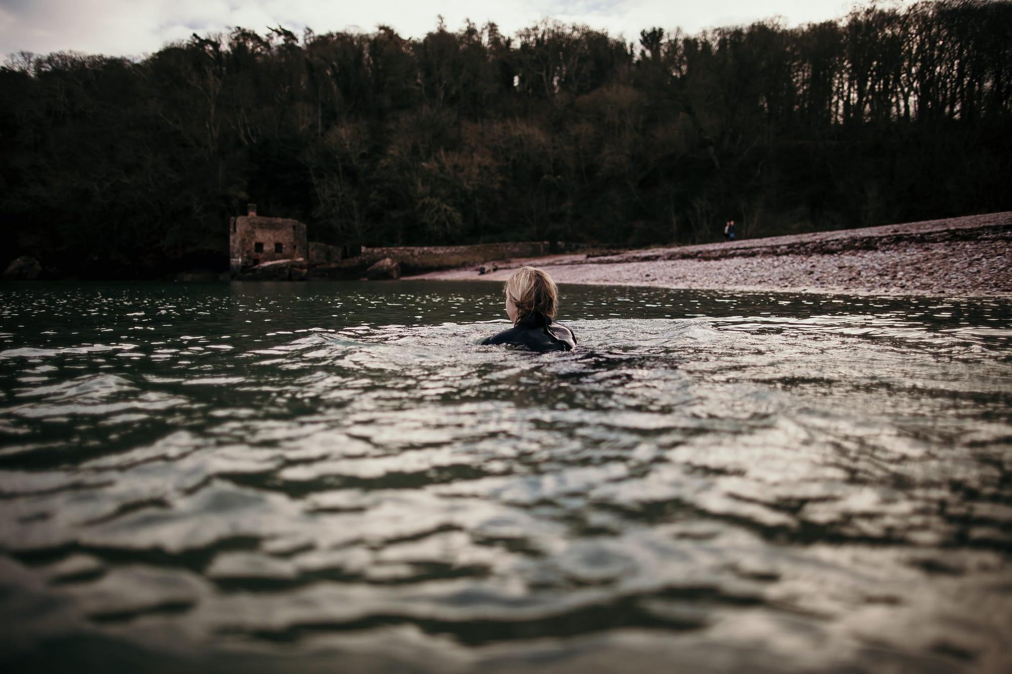Wild Swimming South Devon - Elberry Cove