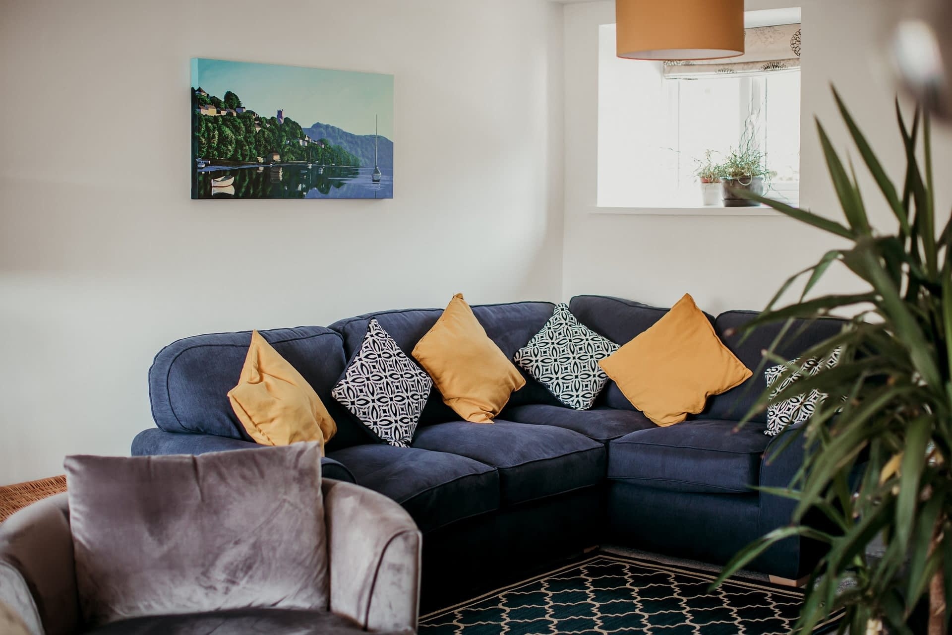 Living Room - Holiday Cottages Noss Mayo