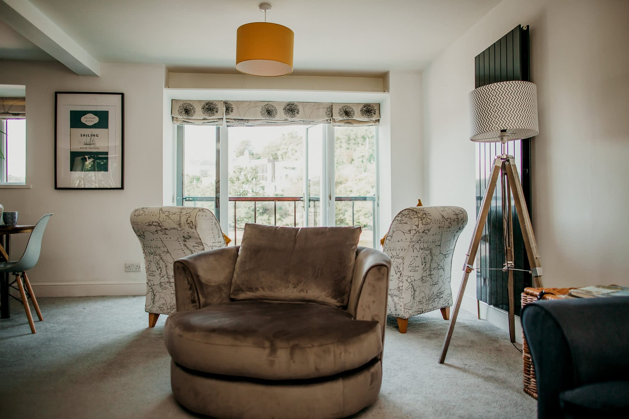 Balcony with amazing river views - Holiday Cottages Noss Mayo