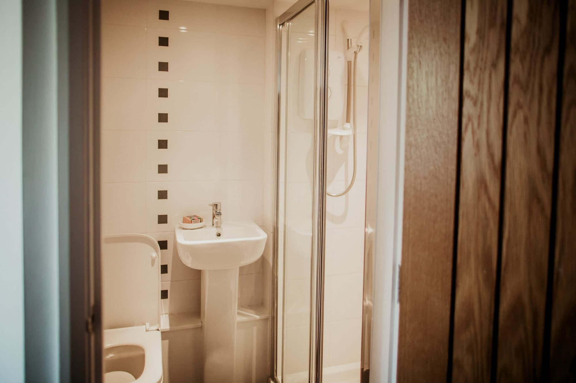 Shower Room on the Ground Floor - Holiday Cottages Noss Mayo
